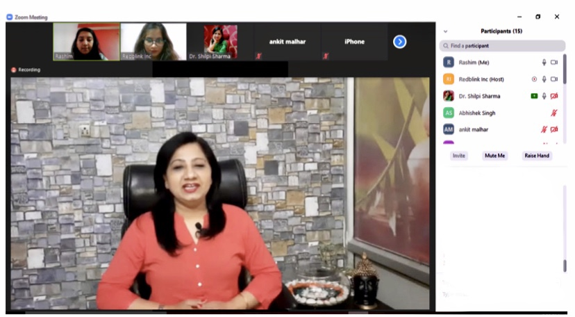 panchakarma webinar at redblink technologies